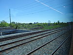 Looking out the left window on a trip from Union to Pearson, 2015 06 06 A (426) (18637130402).jpg