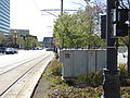 Looking west (southside) from Temple Square Station.JPG