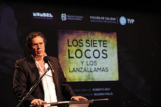 Tristán Bauer - Image: Los 7 locos Presentación Tristán Bauer