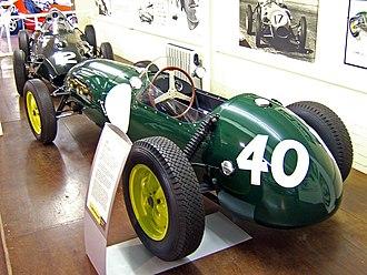 Lotus 12 - Image: Lotus 12 Donington