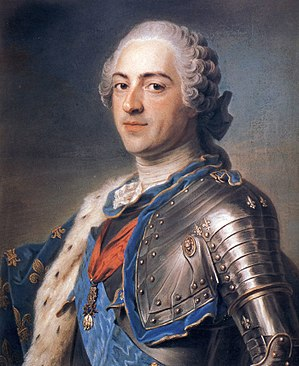 History of monarchy in Canada - Louis XV in 1748; the last King of France to rule in what is now Canada
