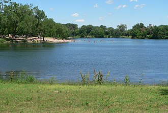 Louisville State Recreation Area - Image: Louisville SRA (Nebraska) Lake 2 from W 1