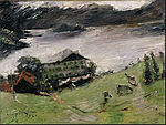 Lovis Corinth - Landscape at the Walchensee - Google Art Project.jpg