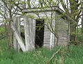 Lowe Center School outhouse SW 1.JPG