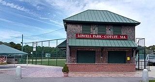 Lowell Park (ballpark) Baseball venue in Cotuit, Massachusetts