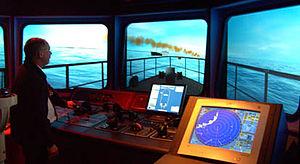 Lowestoft College - East Coast College's Maritime Bridge Simulator