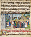 Loyset Liédet (Flemish, active about 1448 - 1478) - The Byzantine Emperor Welcoming Roussillon and Martel - Google Art Project.jpg