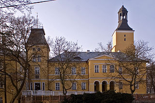 Lubsko Place in Lubusz Voivodeship, Poland