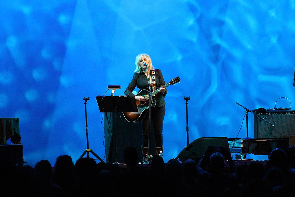 Lucinda Williams at a Lincoln Center Out Of Doors concert in New York City, August 2016.jpg