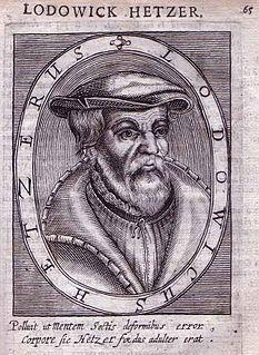 Ludwig Haetzer Swiss bible translator