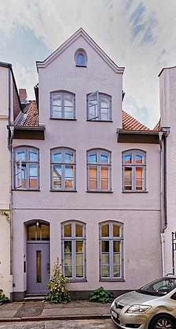 Rosengarten in Lübeck