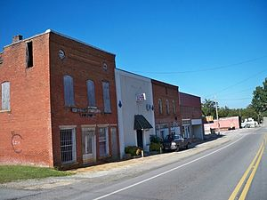 Lula, Georgia - Downtown Lula