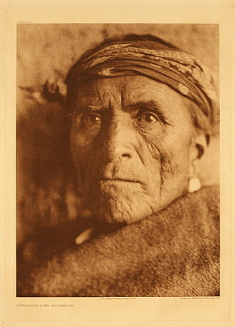 Zuni - Lutakawi, Zuni Governor, photographed before 1925 by Edward S. Curtis