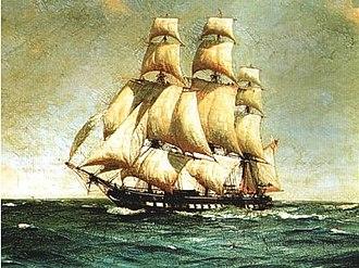HMS Lutine (1779) - A frigate similar to HMS Lutine