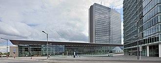 Alcide de Gasperi Building - Image: Luxembourg Kirchberg A De Gasperi 01