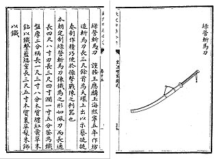 <i>Zhanmadao</i> Type of Infantry anti-cavalry saber