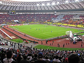 Luzhniki Stadium - Stadium in 2009: Russia vs. Germany