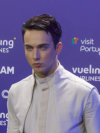 Mélovin - Mélovin at the Eurovision Song Contest 2018.