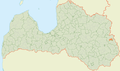 Mērdzenes pagasts LocMap.png