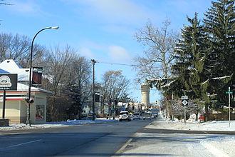 M-17 (Michigan highway) - Cross Street, one-way, facing west