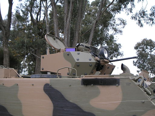 M113AS4 turret