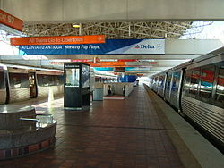 MARTA Airport Station; Atlanta Airport.jpg