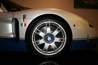 Maserati MC12 - Maserati MC12 wheel