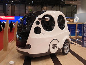 Motor Development International - MDI AIRPod at the 2009 Geneva Motor Show