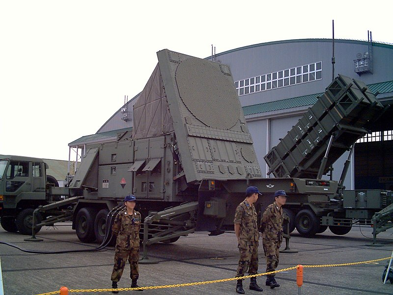 File:MIM-104 Patriot Radar unit JASDF Iruma Airbase 2006-2.jpg