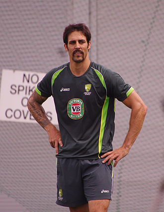 Mitchell Johnson (cricketer) - Johnson in January 2014