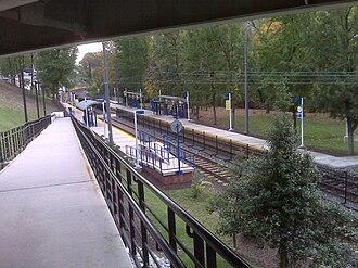 Cold Spring Lane station - Cold Spring Lane station in 2010