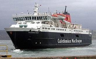 Caledonian MacBrayne - MV Caledonian Isles at Gourock