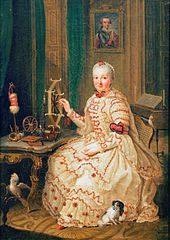 Countess Palatine Elisabeth Auguste of Sulzbach (1721-1794)