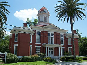 National Register of Historic Places listings in Baker County, Florida - Image: Maclenny Cty crths 01