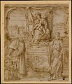 Madonna and Child Enthroned with Saint Basil the Great and Saint John the Baptist and Donor MET DT10431.jpg