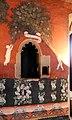 Maestro lombardo, puttini tra alberi con cartigli, finti drappeggi e stemmi araldici, 1423, 17.jpg
