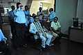 Mahesh Sharma With Prabhas Kumar Singh And Anil Shrikrishna Manekar Watching 3D Video - NCSM - Kolkata 2017-07-11 3539.JPG