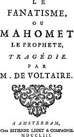 L ouvrage de Voltaire