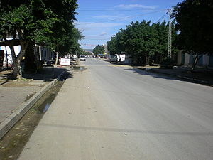 Aousja - Image: Main Street Aousja