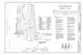 Mainmast, Sheet 1 of 3 - Ship BALCLUTHA, 2905 Hyde Street Pier, San Francisco, San Francisco County, CA HAER CAL,38-SANFRA,200- (sheet 42 of 69).png
