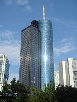 Helaba toren in Frankfurt am Main