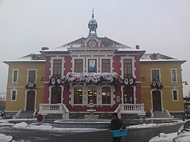 The town hall in Douvaine