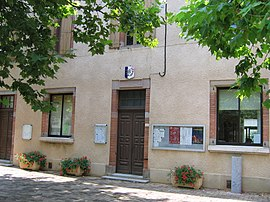 Teillet: the mairie