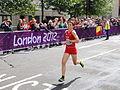 Maja Neuenschwander (Switzerland) - London 2012 Women's Marathon.jpg