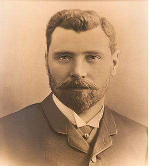 Seaton Carew Golf Club - Major Matthew Gray (circa 1890) Golfer, President and Benefactor of Seaton Carew Golf Club.