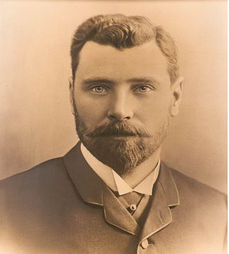 Seaton Carew Golf Club - Major Matthew Gray (circa 1890) Golfer, President and Benefactor of Seaton Carew Golf Club.