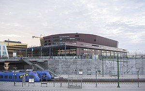 Eurovision Song Contest 2013 - Malmö Arena, Malmö - host venue of the 2013 contest.