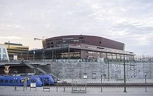 Malmö Arena - Malmö Arena, next to Hyllie Railway Station.
