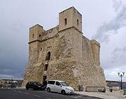 Malta Wignacourt Tower BW 2011-10-09 15-48-38 1