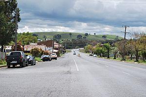 Mandurama, New South Wales - Olive Street, the main street of Mandurama, looking north